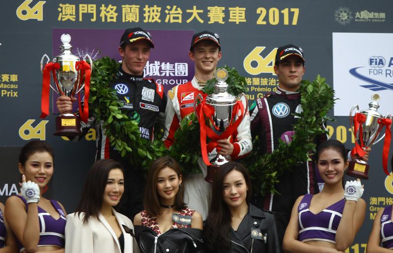 SJM Theodore Racing by Prema won the Macau Grand Prix qualification race with Callum Illot.