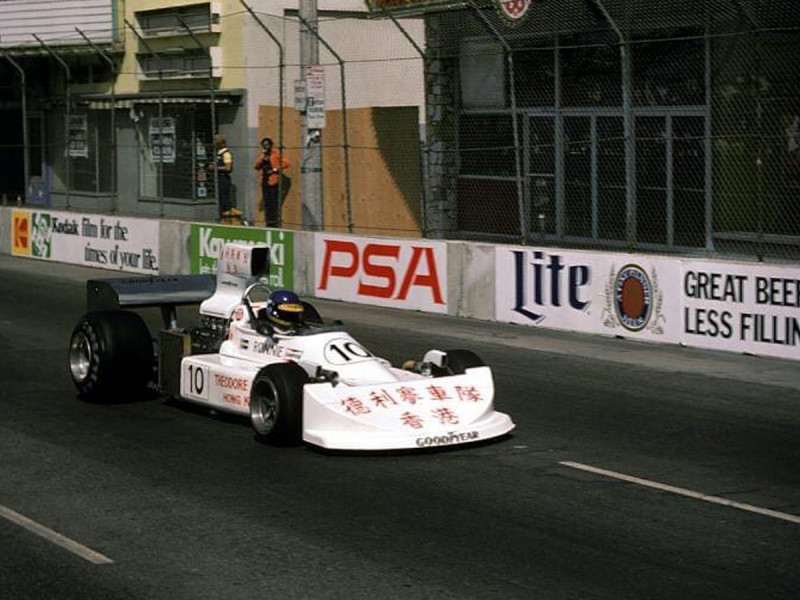 Theodore Racing enters its first Formula 1 race: The United States Grand Prix West, Long Beach. To this day Theodore is the first and only Chinese constructor in Formula 1 and has raced in 51 Grand Prix events.