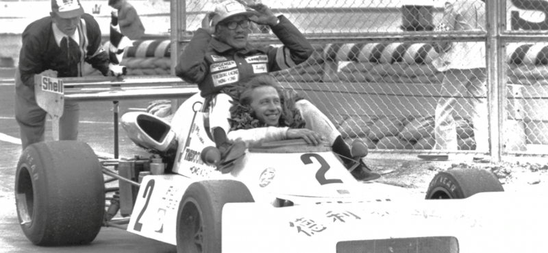 Second Macau Grand Prix  win with Vern Schuppan.