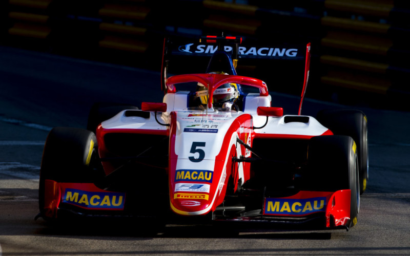 SJM Prema Theodore Racing's, Robert Shwartzman takes front row start for Macau's qualification race